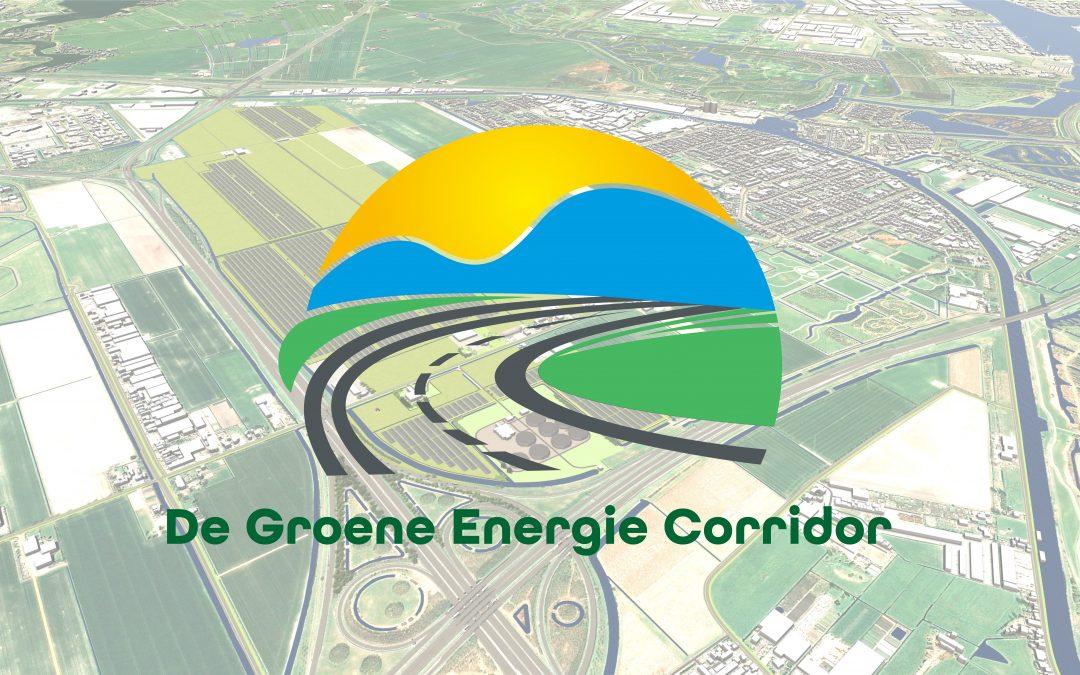 Terinzagelegging aanvraag en ontwerp besluit zonnepark De Groene Energie Corridor